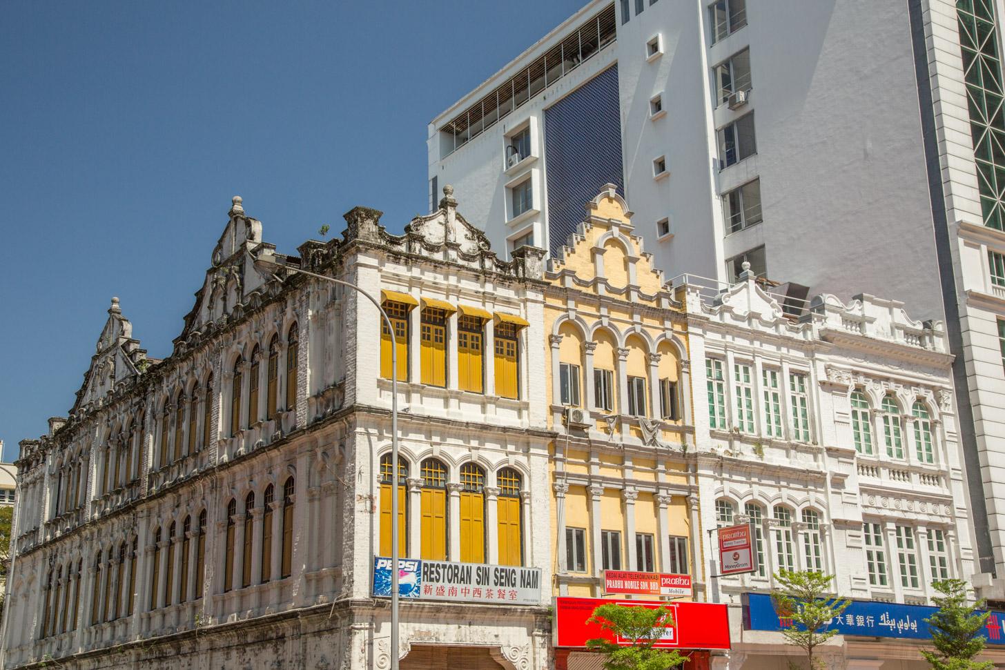Het historisch centrum van Kuala Lumpur