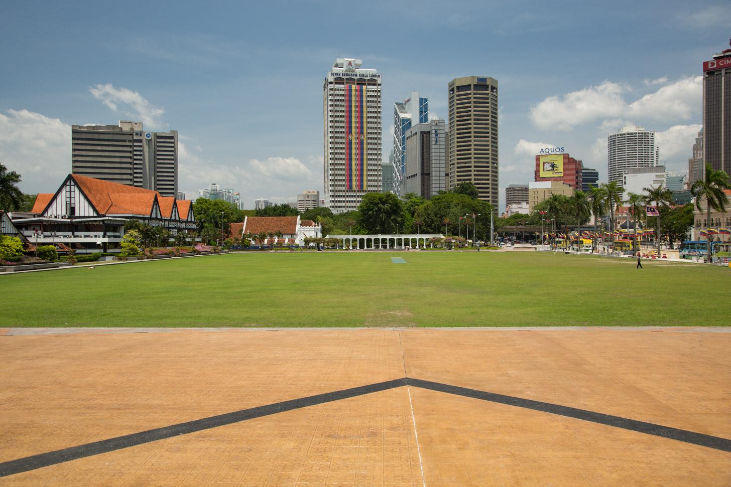 Het hart van KL: Merdeka Square