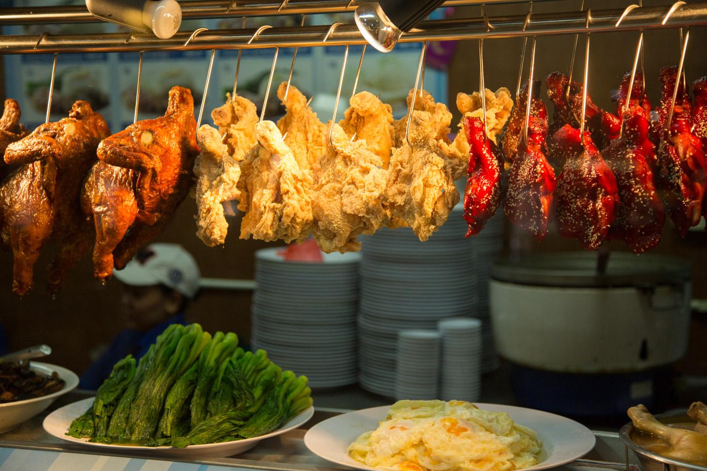 De Chinese keuken is ook vertegenwoordigd in KL