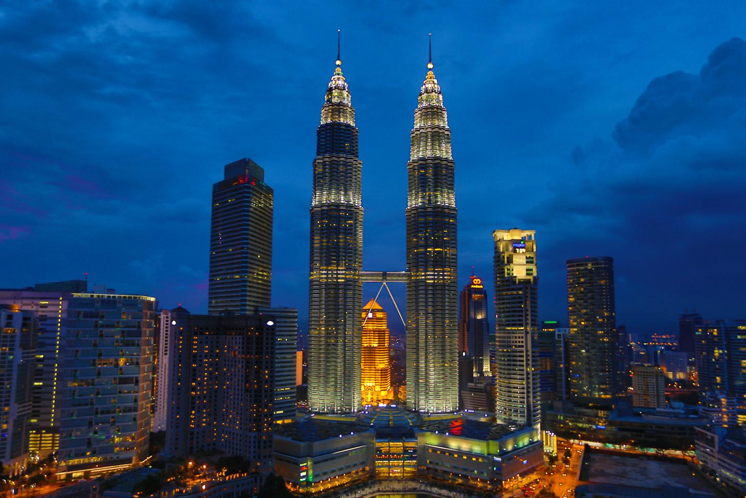 Modern Kuala Lumpur met de Petronas Twin Towers