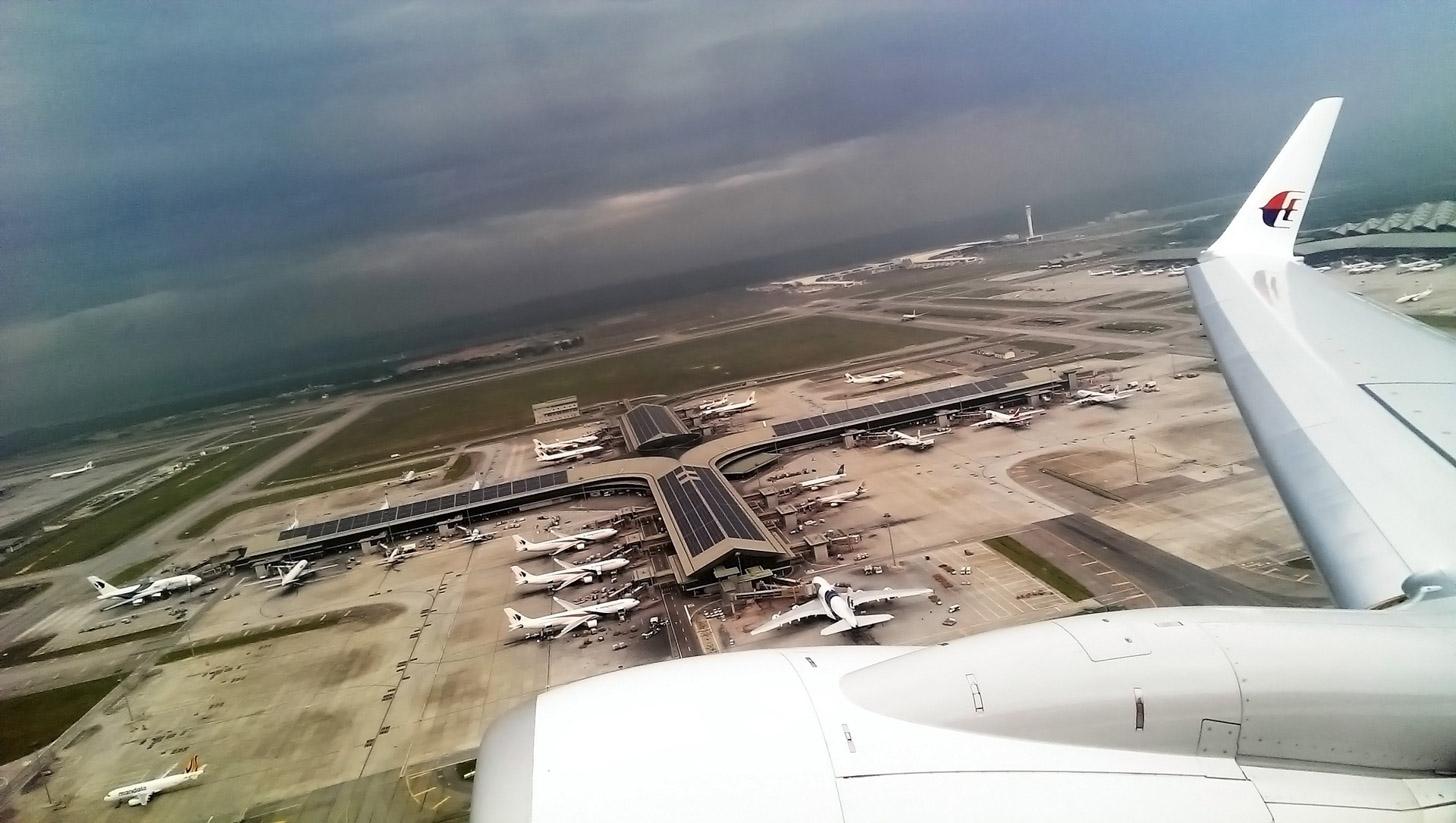 vliegen naar Kuala Lumpur
