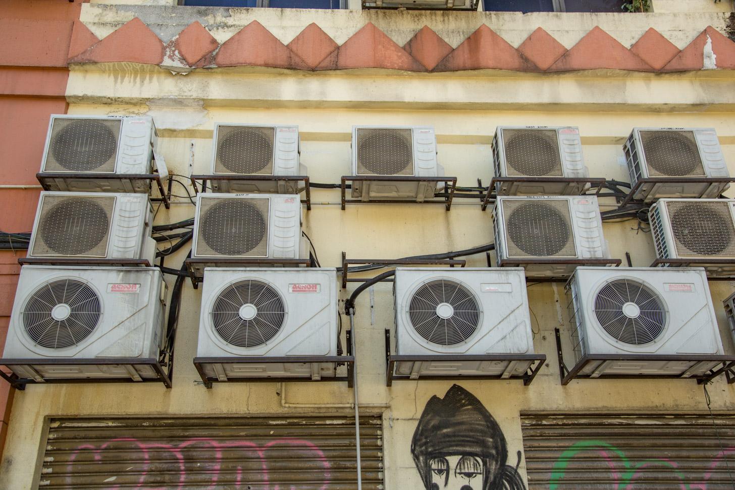 Het hoofd koel houden kan dankzij airco's